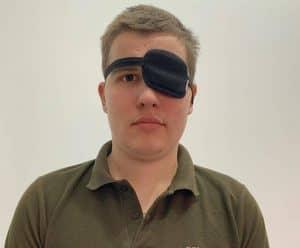 Maksym Bebeshko walczy z guzem