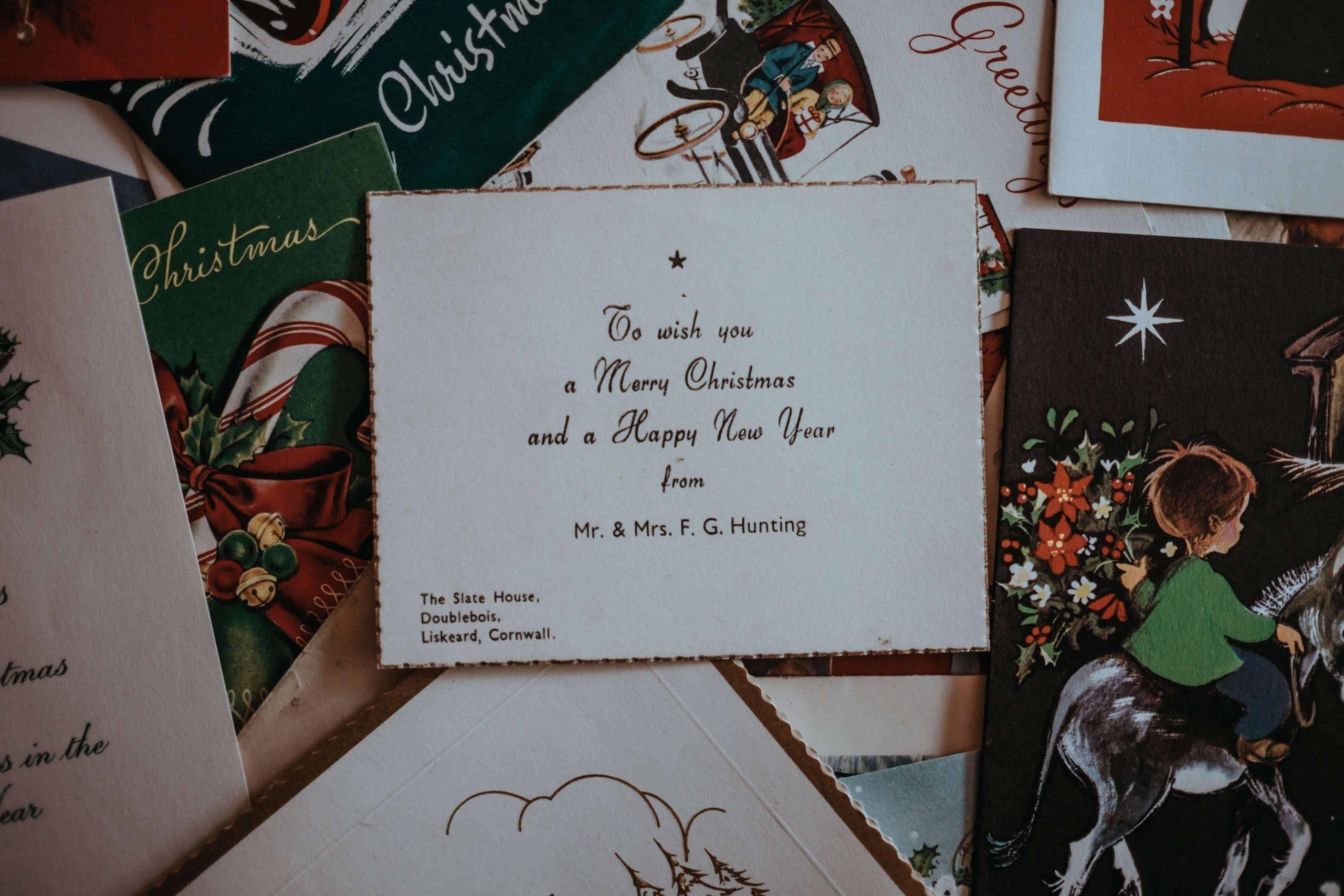 charytatywne kartki świąteczne dzięki, którym pomagasz